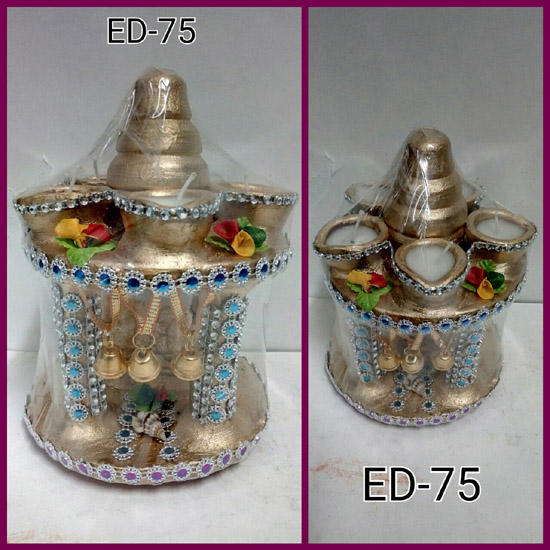 ED-75 EARTHEN MANDIR (SMALL)