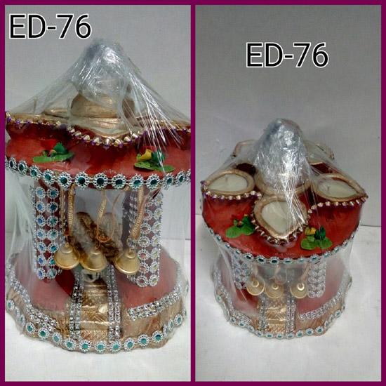 ED-76 EARTHEN MANDIR (MED.)