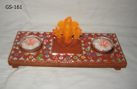 GANESH JI WITH MDF PLATE