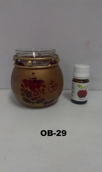 Oil Burner Ganesh+Burner